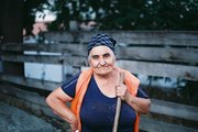 street photography from sweepers series Tbilisi Georgia
