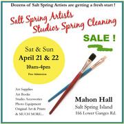 Artists Studio Sale
