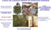 CURSO DE CIRUGIA MENOR