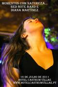 """""""Momentos com Natureza..."""" Red Note Band e Diana Martinez-Hotel Castrum Villae"""