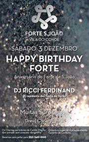 NOITE: Happy Birthday FORTE