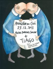 NOITE: Fritus B-Day: Tiago (DFA/Italians Do It Better/Golf Channel/Rong) + Fritus
