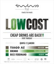 NOITE: Low Cost Demo & Tiago Az