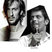 ESPECTÁCULOS: Bruno Nogueira e Ricardo Vilão