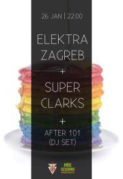NOITE: Indie Sessions   Elektra Zagreb   Super Clarks   After 101