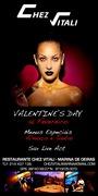 NOITE: S. Valentine's Day no CHEZ VITALI