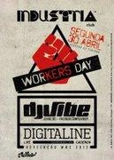 NOITE: Workers Day - Dj Vibe + Digitaline