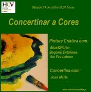WORKSHOP: Concertinar a Cores