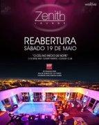 NOITE: Zenith Lounge - Reabertura