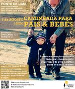 ACTIVIDADES: Caminhada Pais & Bebés