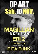 NOITE: Magillian, Eri2, Rita Rink