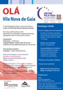 SOLIDARIEDADE: Um Dia Pela Vida em Vila Nova de Gaia