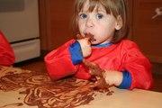 CRIANÇAS: VAMOS PINTAR COM CHOCOLATE (+12 meses) - Ao ar livre
