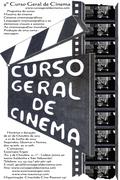 CURSOS: 9º Curso Geral de Cinema