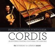 MÚSICA: CORDIS - piano & guitarra portuguesa