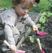 CRIANÇAS: Vamos Jardinar, Sujar e Brincar  (+15 meses)