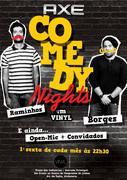 ESPECTÁCULOS: Axe Comedy Nights