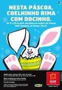CRIANÇAS: Nesta Páscoa, coelhinho rima com docinho!