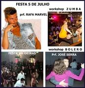 FESTA: Salsa, Kizomba, Bachata, Danças Salão e Europeias
