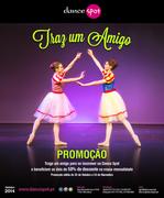 """AULAS DE DANÇA: Promoção """"Traz um amigo"""""""