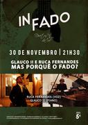 """MÚSICA: """"Glauco II e Ruca Fernandes - mas porquê o fado?"""" - Concertos IN FADO"""