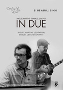 "MÚSICA: Miguel Martins & Samuel Lercher - ""In Due"""