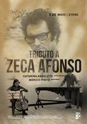 MÚSICA: TRIBUTO A ZECA AFONSO - Catarina Anacleto & Márcio Pinto - CONCERTO NO DUETOS DA SÉ, ALFAMA, LISBOA