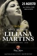 MÚSICA: Noite de Fados com Liliana Martins