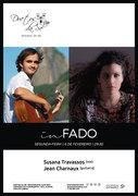 "MÚSICA: Susana Travassos & Jean Charnaux - Em concerto ""In Fado"""