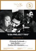 """""""EISA PROJECT TRIO"""" - ORLANDA GUILANDE, JOÃO BALÃO & CARLOS MIL-HOMENS - EM CONCERTO NO DUETOS DA SÉ, ALFAMA, LISBOA"""