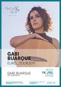 MÚSICA: Gabi Buarque - EURO_TOUR2017