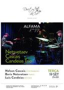 """MÚSICA: """"Netsvetaev/Cascais/Candeias Trio"""" – Nelson Cascais, Boris Netsvetaev & Luís Candeias"""
