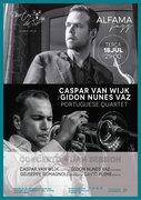MÚSICA: Caspar van Wijk/Gidon Nunes Vaz Portuguese Quartet