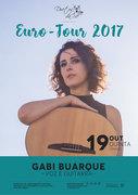 MÚSICA: Gabi Buarque – Euro Tour 2017