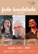 "MÚSICA:""Fado Bandolado"" - Sandra Camilo,  Rui Rocha & Edu Miranda"