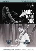MÚSICA: Isabel Rato Duo – Isabel Rato & Carl Nevitt