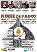 MÚSICA: NOITE DE FADOS DO CLÃ 73