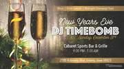 NYE with DJ Timebomb