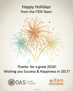 Happy Holidays From Team ITEN