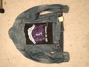 Levi's Metallica jeans jacket