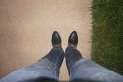 Italian shoes on the medium