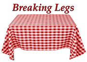 "Auditions for ""Breaking Legs"""
