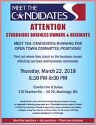 Sturbridge Meet the Candidates Night