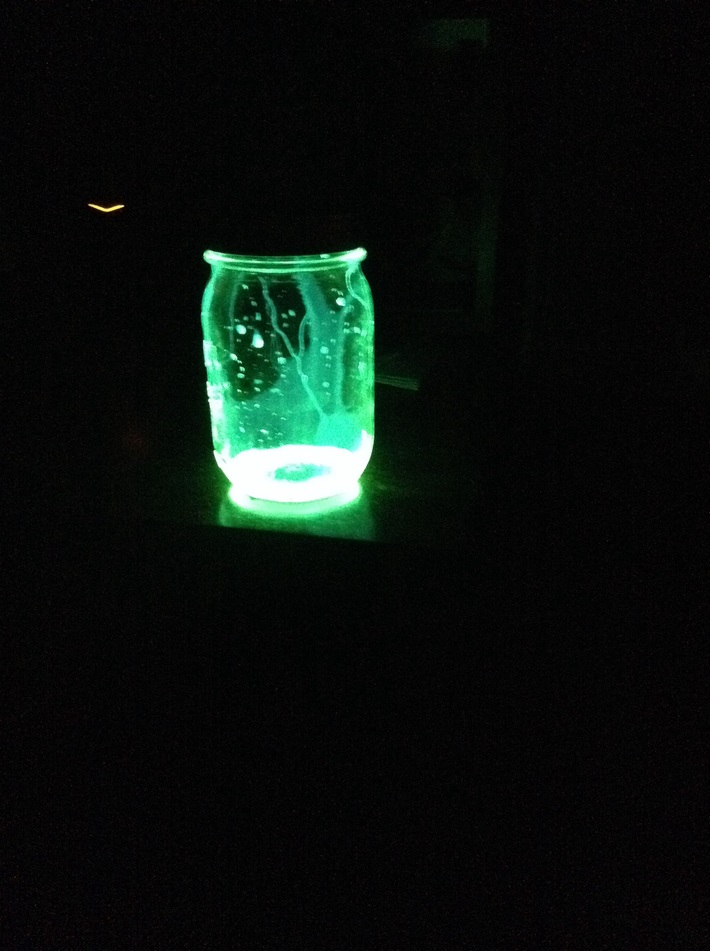 Glowing potion