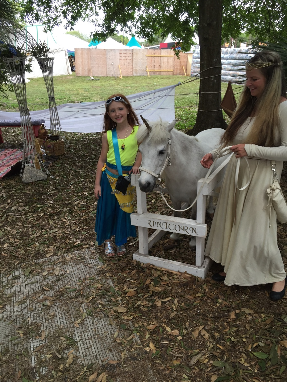 Minion Belly Dancer meets a unicorn