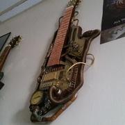 Steampunk lap steel guitar #2