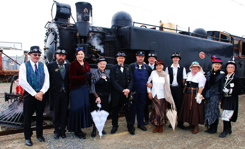 Steamtrain Taihape event 2016 1