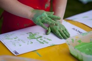 Natural Messy Play for under 5's start 9 Jan