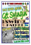 Swing Dancing with the ENJO & Swing Patrol