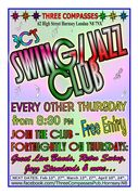 3C's Swing/Jazz Club - Free Live Music every fortnight!
